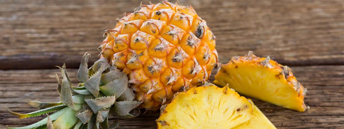 Какая кислота в ананасе