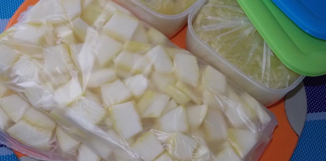 замороженная репа в пакете