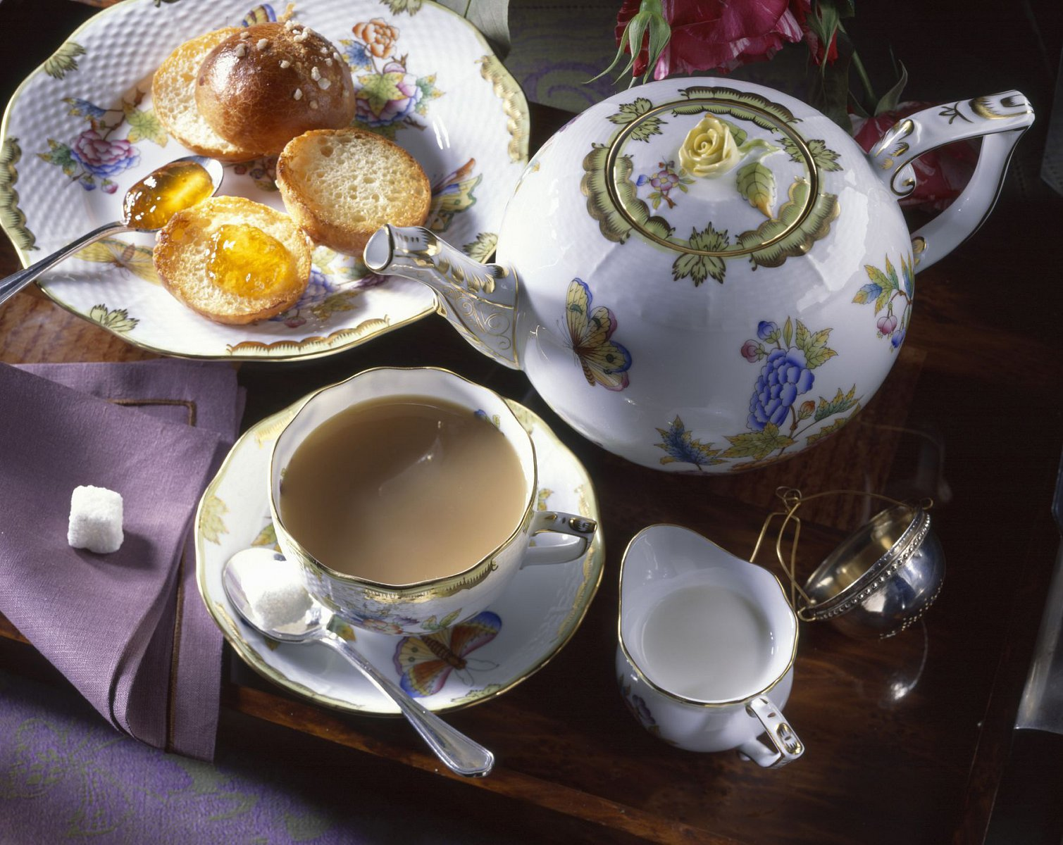 англичанин пьющий чай