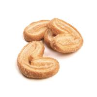 три печенья, сделанные в форме ушек