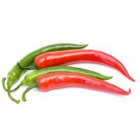 стручки красного и зеленого перца