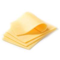 фото плавленного сыра на белом фоне