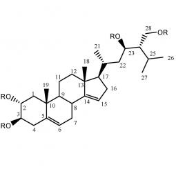 структурная и химическая формула кампестерола