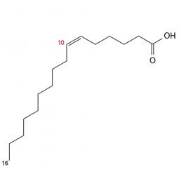 химическая формула миристолеиновой кислоты