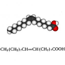 структурная и химическая формула олеиновой кислоты