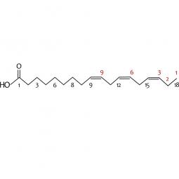 химическая формула альфа-линоленовой кислоты омега-3