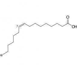 химическая формула пальмитолеиновой кислоты