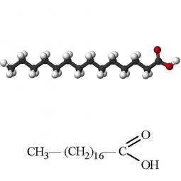 структурная и химическая формула стеариновой кислоты