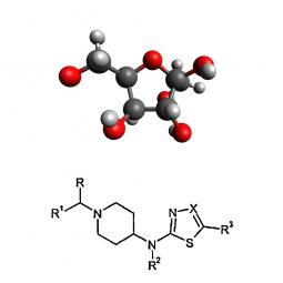 структурная и химическая формула золы