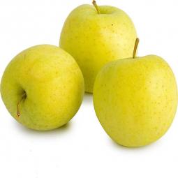 три яблока сорта голден
