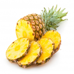 фото ананаса, нарезанного кольцами