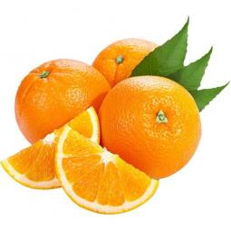 апельсины на белом фоне