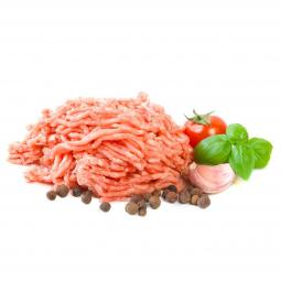 индюшиный фарш, свежий помидор, базилик, чеснок, душистый перец горошком