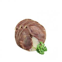 колбаса казы с веточкой петрушки