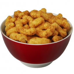 тарелка с кукурузными палочками