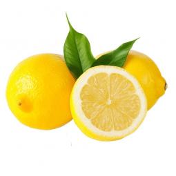 два с половиной лимона на белом фоне