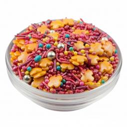 мисочка с разноцветной кондитерской посыпкой
