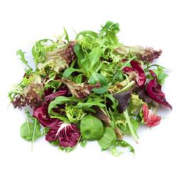 салатный микс из разных листьев и зелени