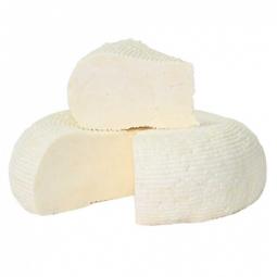 адыгейский сыр на белом фоне