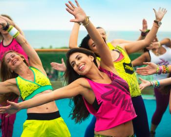 танцевальная тренировка зумба