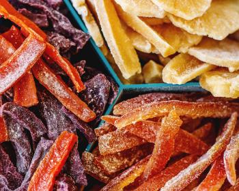 цукаты из корок фруктов