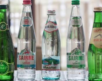 разные виды минеральной воды