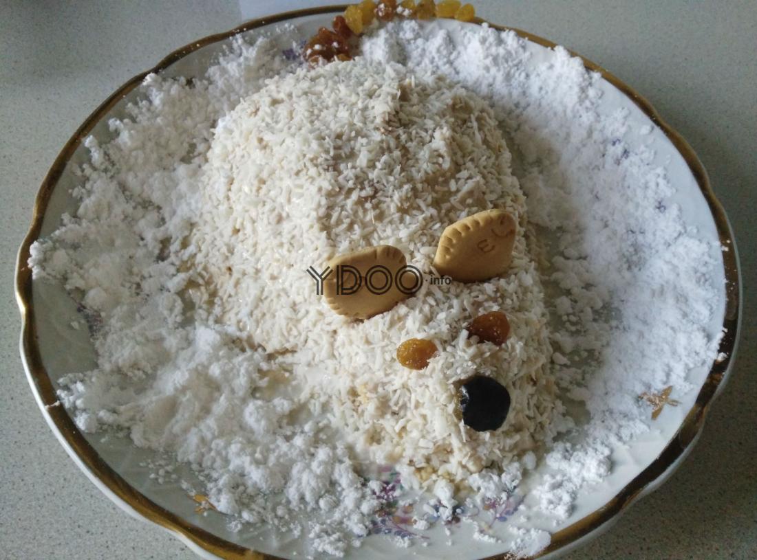 фото торта в виде крысы