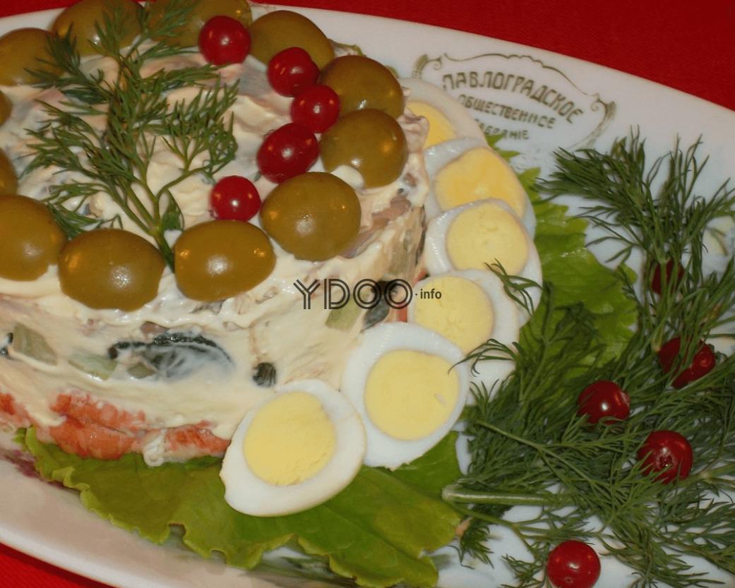 Рецепт очень вкусного оливье