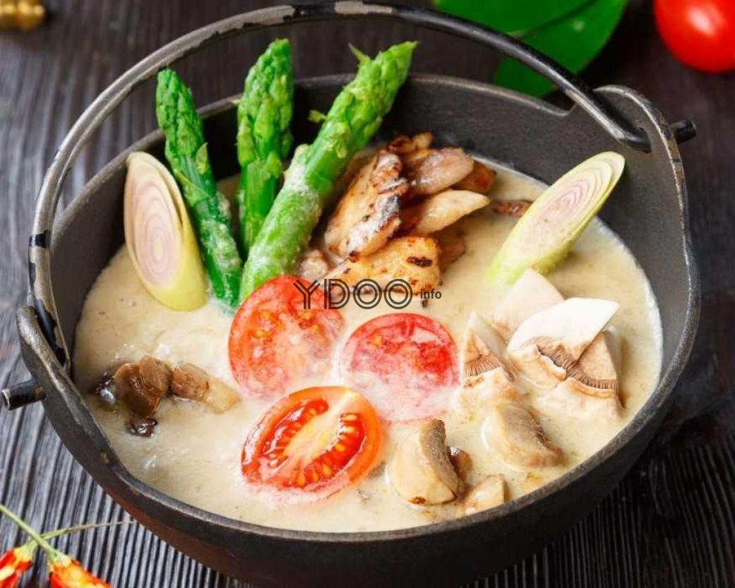 том кха кай острый тайский суп рецепт приготовления